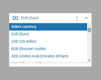 1xbet currencies